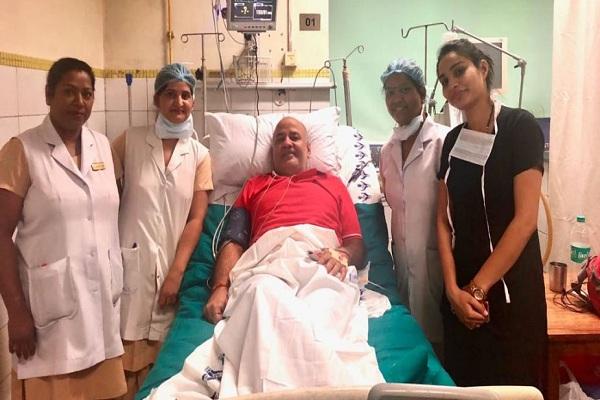 दिल्ली के डिप्टी सीएम अस्पताल में भर्ती, 14 सितंबर को हुई थी कोरोना संक्रमित की पुष्टि