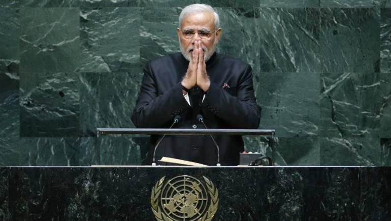 PM Modi addressed in UNGA : मोदी ने संबोधन के दौरान कई अहम बातें कहीं