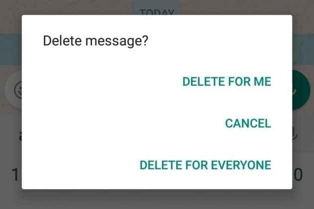 महीनों पुरानी WhatsApp चैट भी कर सकेंगे 'Delete For Everyone' फॉलो करें टेक गाइड