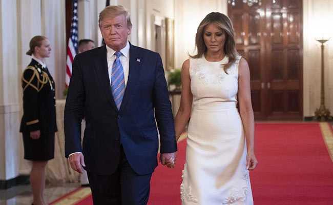 चुनाव से पहले कोरोना की एंट्री, अमेरिकी राष्ट्रपति डोनाल्ड ट्रंप और फर्स्ट लेडी मेलानिया ट्रंप की कोरोना रिपोर्ट पॉजिटिव