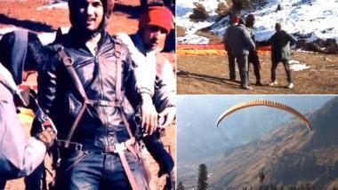अंकिता लोखंडे ने शेयर किया सुशांत का पैराग्लाइडिंग करते हुए वीडियो कहा, उड़ते रहो