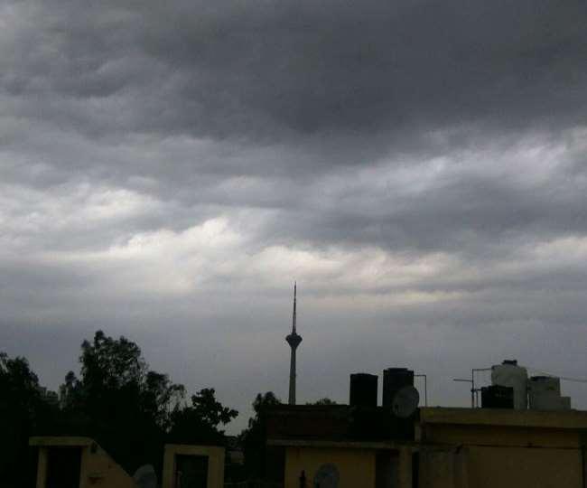 मौसम विभाग का पूर्वानुमान उत्तरप्रदेश के कई इलाकों में हो सकती है बारिश.