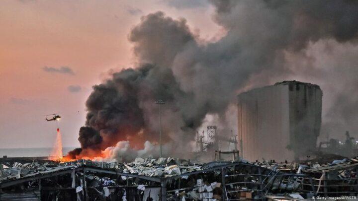 अमोनियम नाइट्रेट के धमाकों से दहल उठा बेरूत, अब तक 73 लोग की मृत्यु और 3700 से ज्यादा लोगों के घायल होने की पुष्टि
