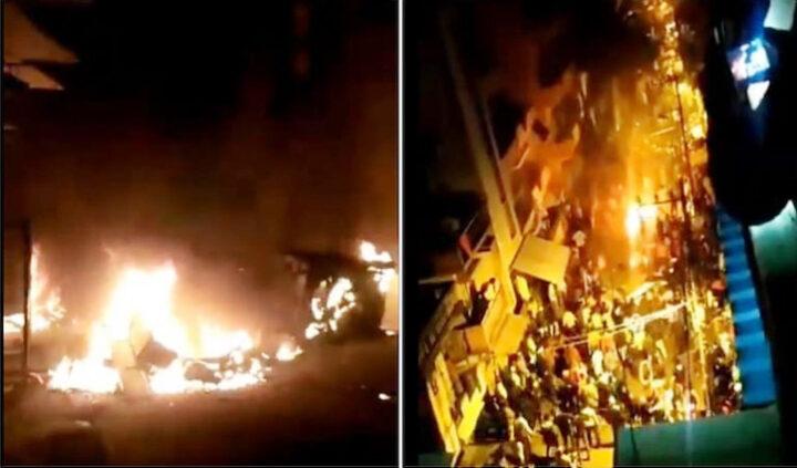 कर्नाटक के चित्रदुर्ग में बर्निग बस में सवार 5 लोगों की दर्दनाक मौत,2 दर्जन से अधिक घायल