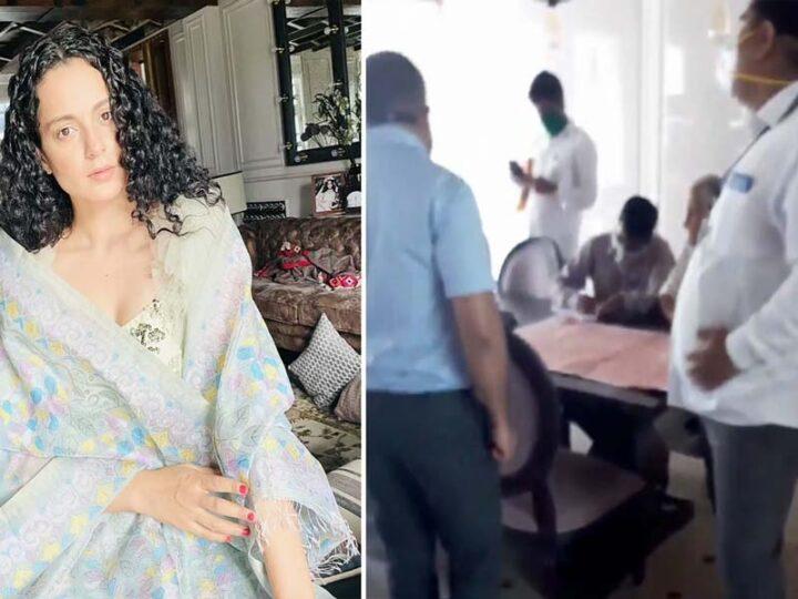 अभिनेत्री के ऑफिस पर BMC का छापा, कंगना ने कहा सपना टूटने का समय आ गया है