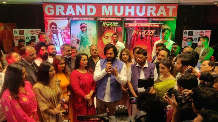 लखनऊ में हुआ रवि किशन, निरहुआ समेत पांच भोजपुरी स्टार की 5 फिल्मों का मुहूर्त