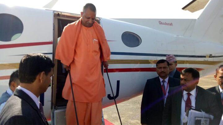 Uttar Pradesh Chief Minister Yogi Adityanath puts his state planes for Covid-19 service