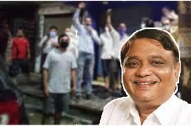 योगी सरकार के राज्यमंत्री अतुल गर्ग ने हटवाया स्कूल के बाहर बन रहा शराब का ठेका