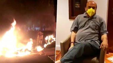 फ़ेसबुक पर विवादित पोस्ट से बेंगलुरु में हुई हिंसा,कांग्रेस विधायक श्रीनिवास मूर्ति के आवास पर तोड़फोड़