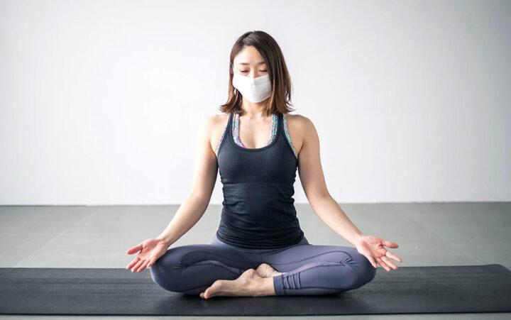 शोध में हुआ दावा, एक्सरसाइज के वक़्त मास्क पहनने से कम हो सकता है कोरोना काखतरा