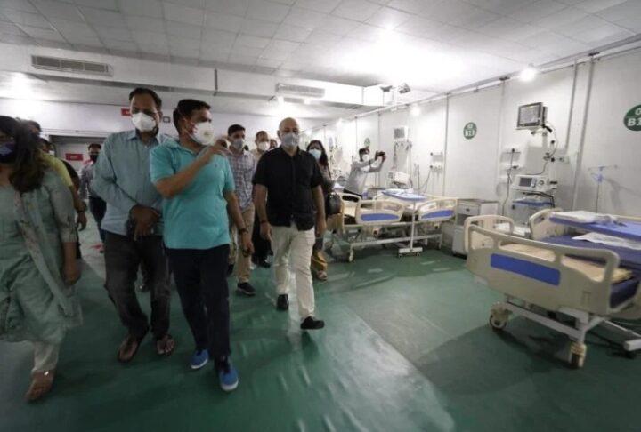 DRDO ने मात्र पांच दिन में बनाया कोविड अस्पताल
