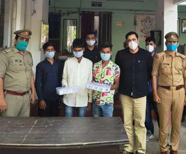 यूपी : रेमडेसिविर की चल रही है तेजी से कालाबाजारी, लखनऊ के हर्षा हॉस्पिटल के मालिक समेत चार गिरफ्तार