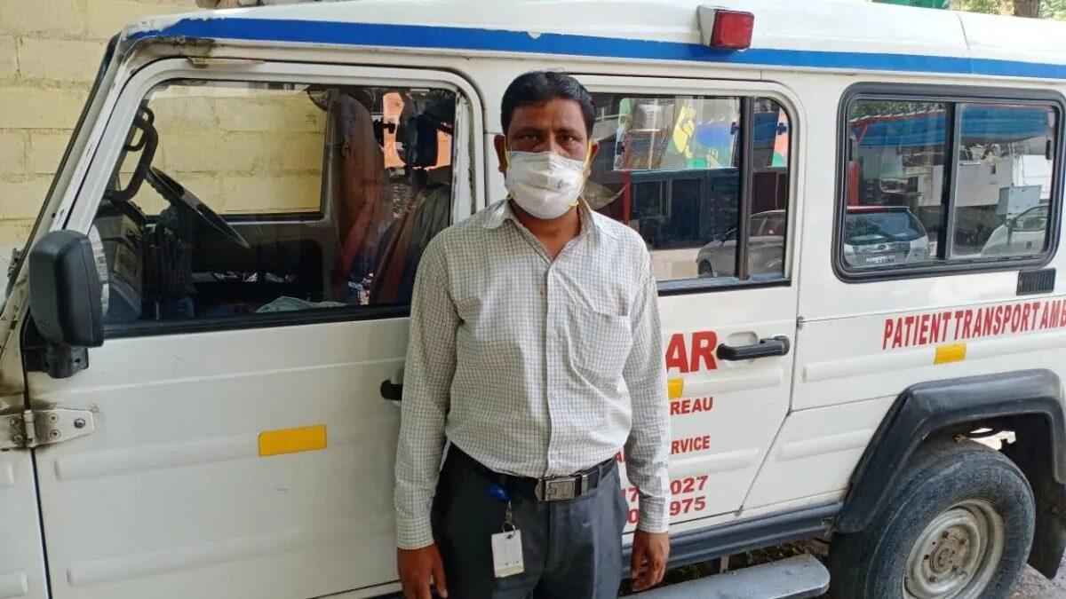 संकट की घड़ी में मुनाफाखोरी करने वाला एंबुलेंस चालक गिरफ्तार, मांगे 7 किलोमीटर के 9000 रुपए